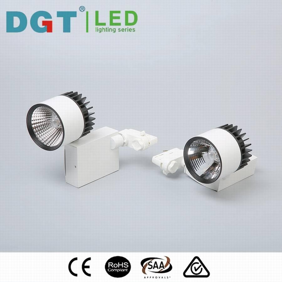 2/3 Circuit Options Spot Light Lens 30W COB LED Tracklight