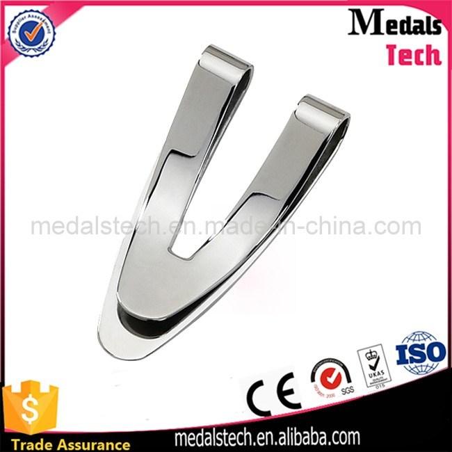 Personalized Custom Logo Stainless Steel Soft Enamel Money Clip