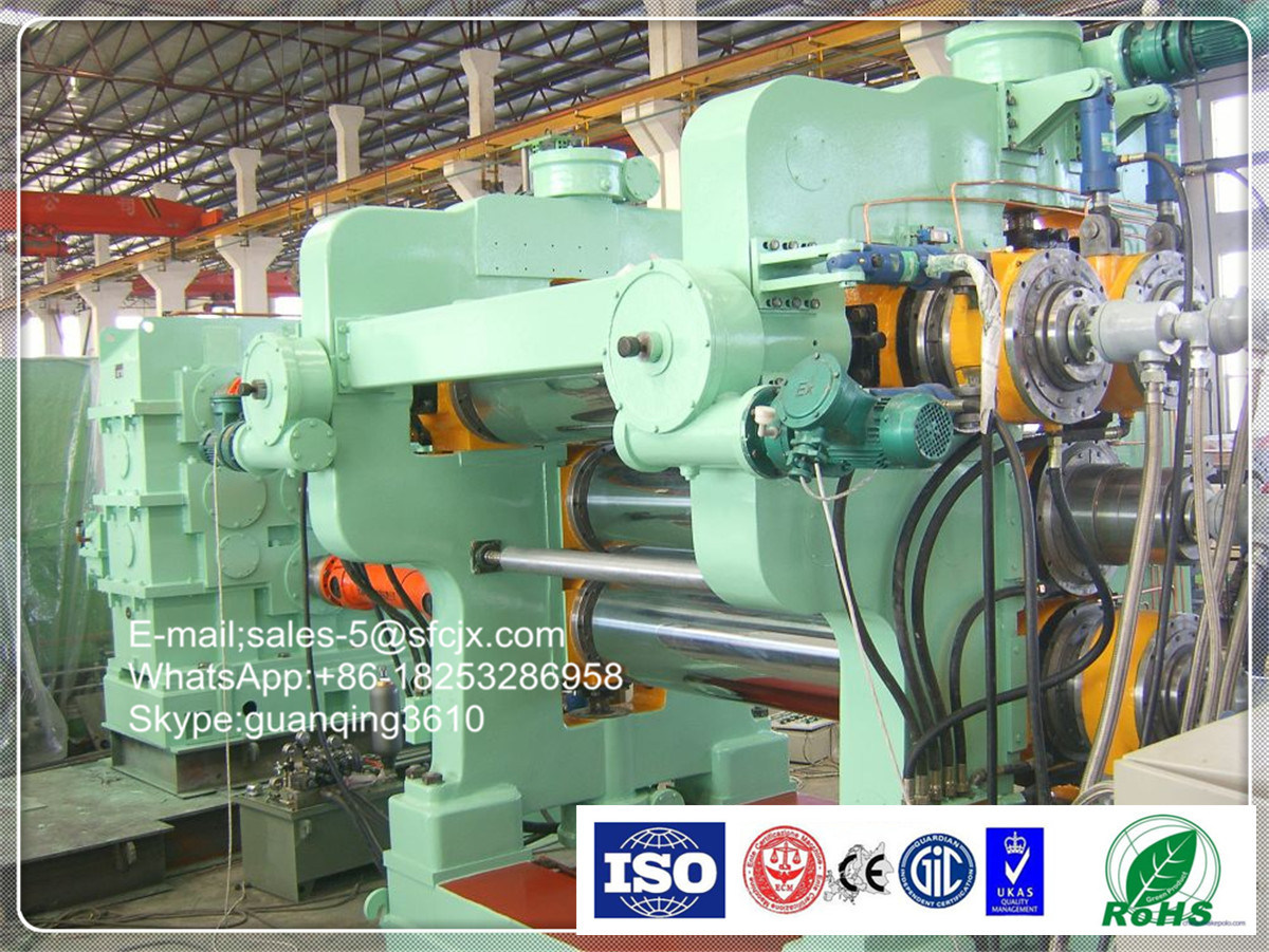 Rubber Calender Four Roll Calender with Auxiliary Calender Machines
