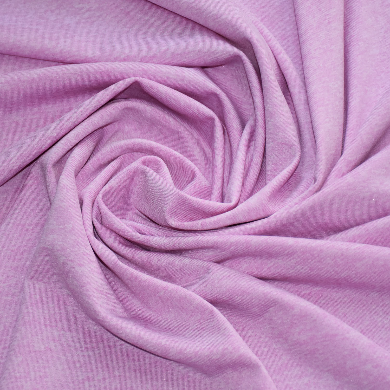 Polyester/Spandex Fabric with Heather Grey for Clothing