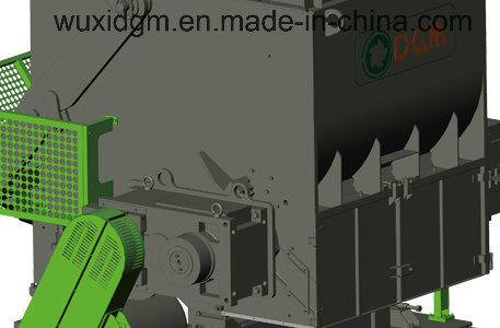 Dgx1500 Heavy Duty Single Shaft Shredder