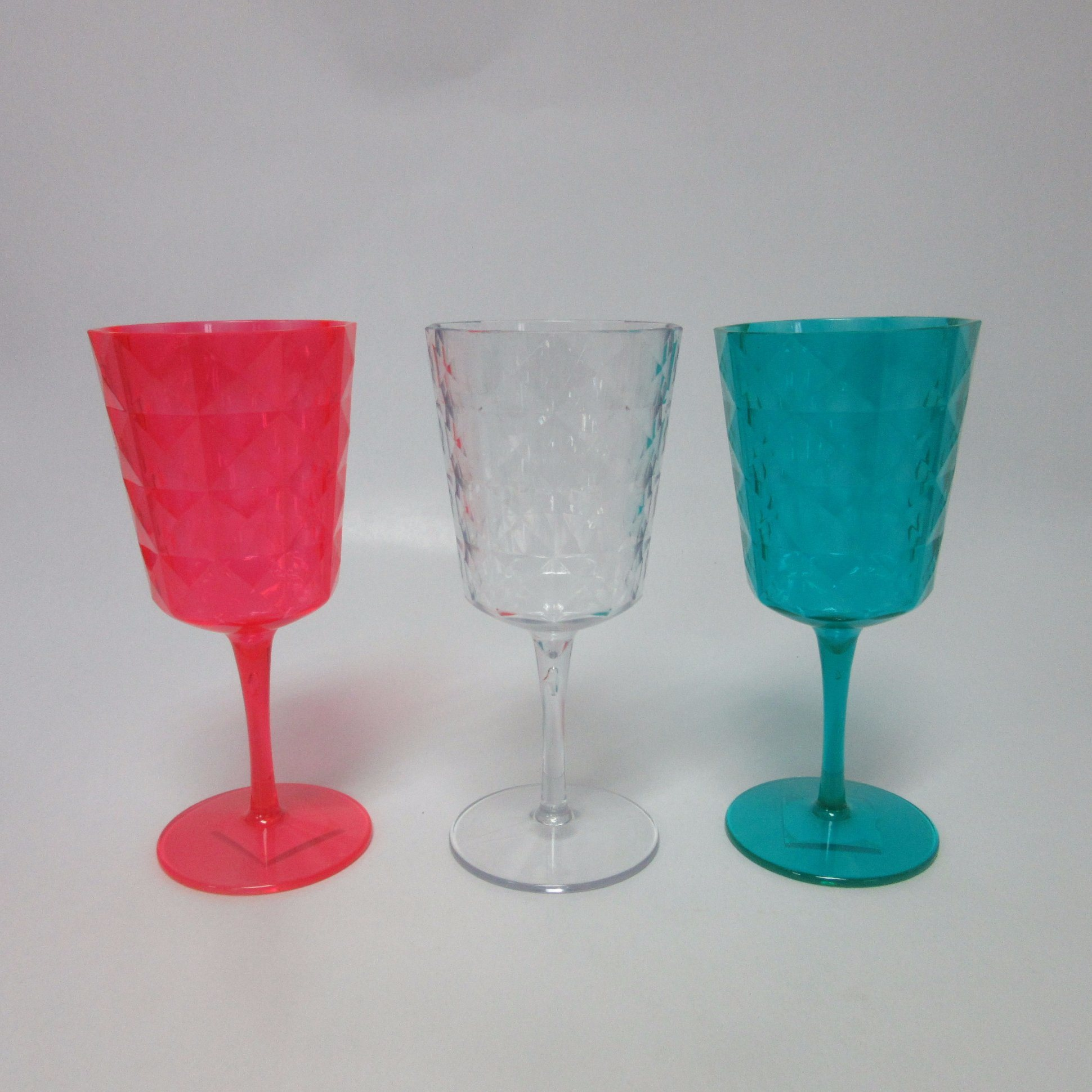 PS Wine Glass Colored Wine Goblet Tableware