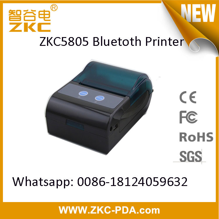 Zkc5805 Android Portable Bluetooth Ticket Printer
