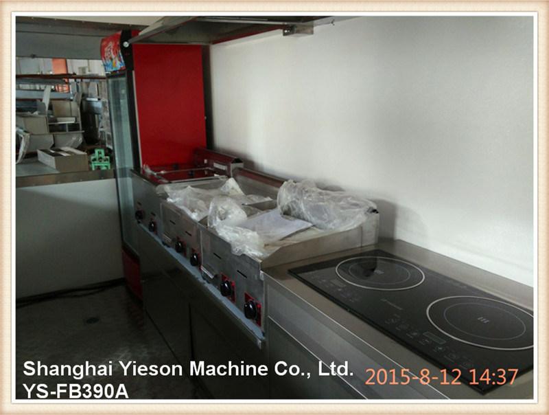 Ys-Fb390A 3.9m Multifunction Foodtruck Ice Cream Van Ice Cream Cart
