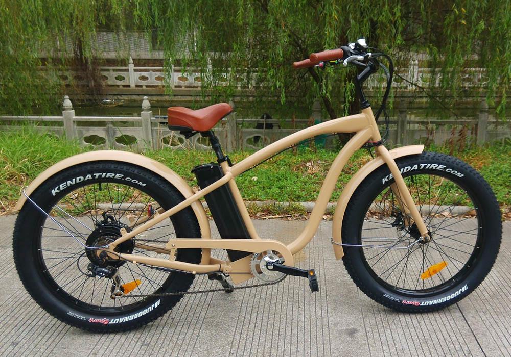 48V750W Bafang Motor Electric Bicycle for Patrolman