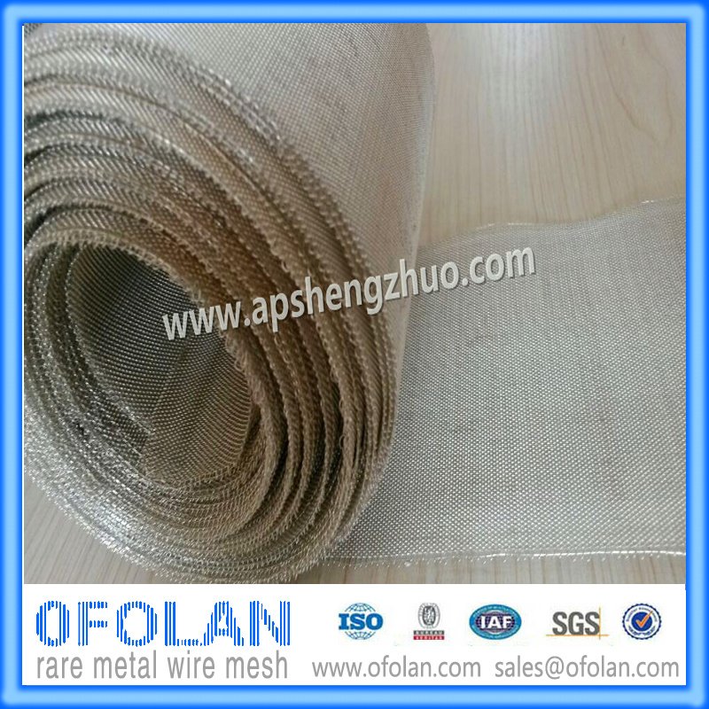 (AG>99.99%) Hole Size  0.5mm (30mesh) Battery Silver Wire Mesh  100mm*100mm Stock Supply