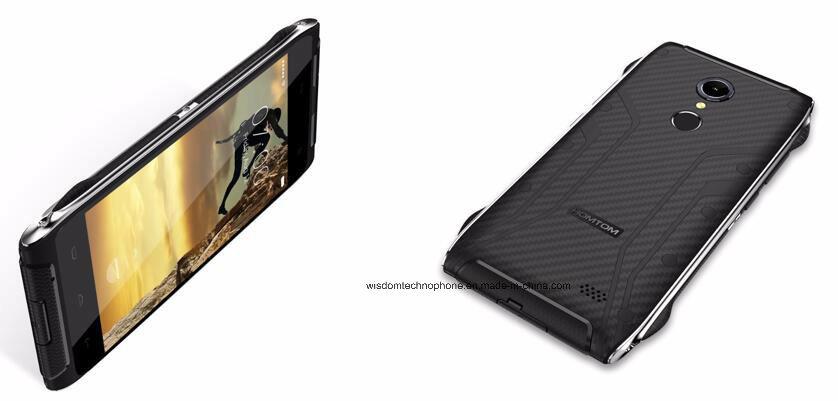 Homtom Ht20 Waterproof Smartphone IP68 Android 6.0 Mt6737 Quad Core 2g RAM 16g ROM 3500mAh 8MP Fingerprint 4G Lte