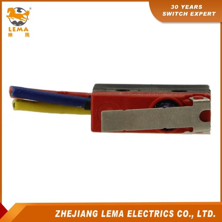 Lema Kw12f-1ex Waterproof IP67 Short Lever Micro Switch