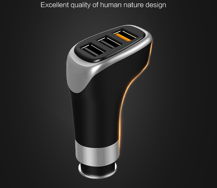 Mobile Fast Car Charger with USB
