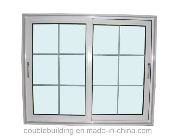PVC Window White UPVC Sliding Window