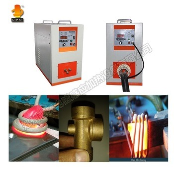 Ultrahigh Frequency Induction Brazing Copper Tube Machine
