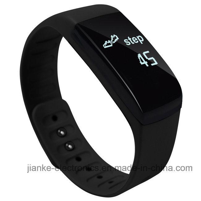 Waterproof Heart Rate Monitor bluetooth Smart Watch (UP08)