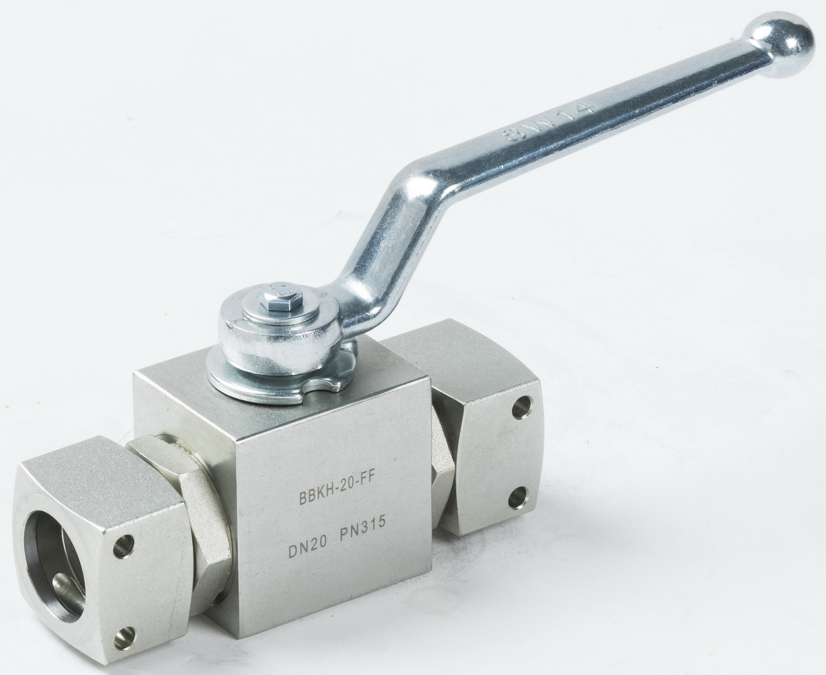 2 Way Ball Valve with Mineral Quick Connections