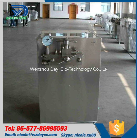 1500L Stainless Steel Milk High Pressure Homogenizer