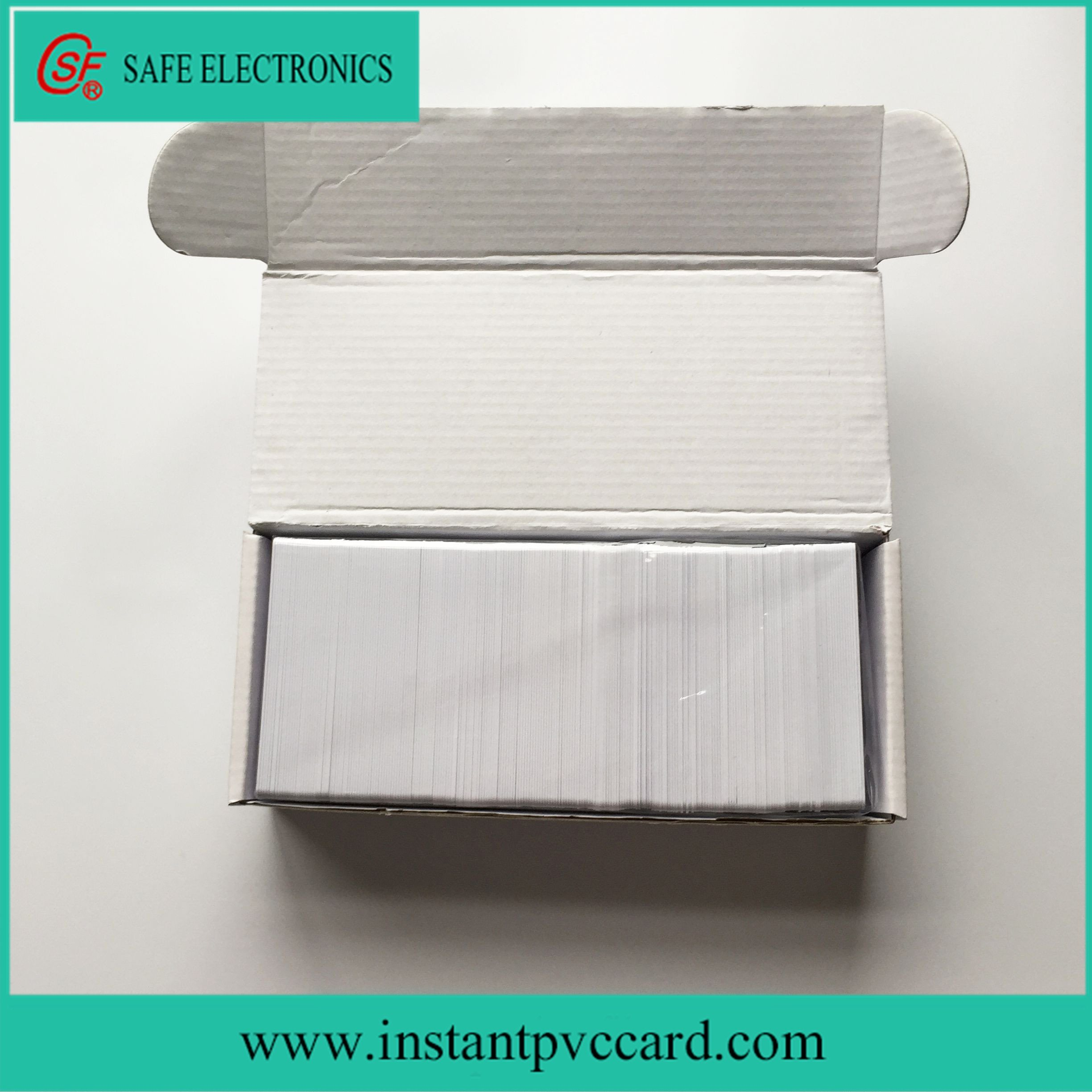 Two Sides Printable Contact Sle4428 Chip IC Card