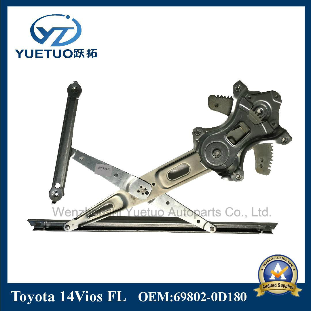 Motorcycle Parts Window Regulator 14vios Front Left OEM 69802-0d180