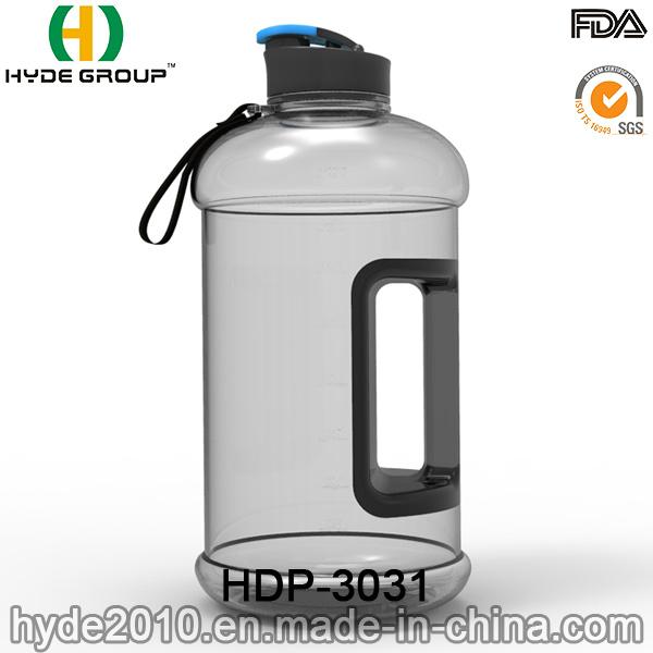 Wholesale Best 2.2L/2.5L BPA Free Tritan Water Jug, BPA Free PETG Plastic Water Bottle with Handle (HDP-3031)