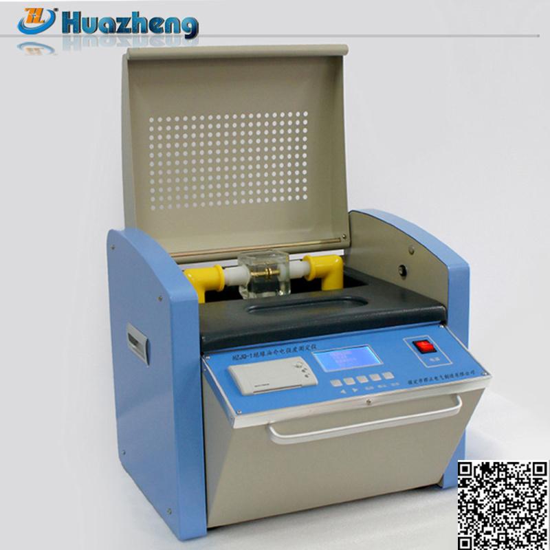 Gold Supplier 80kv Transformer Oil Break Down Voltage Testing Machine