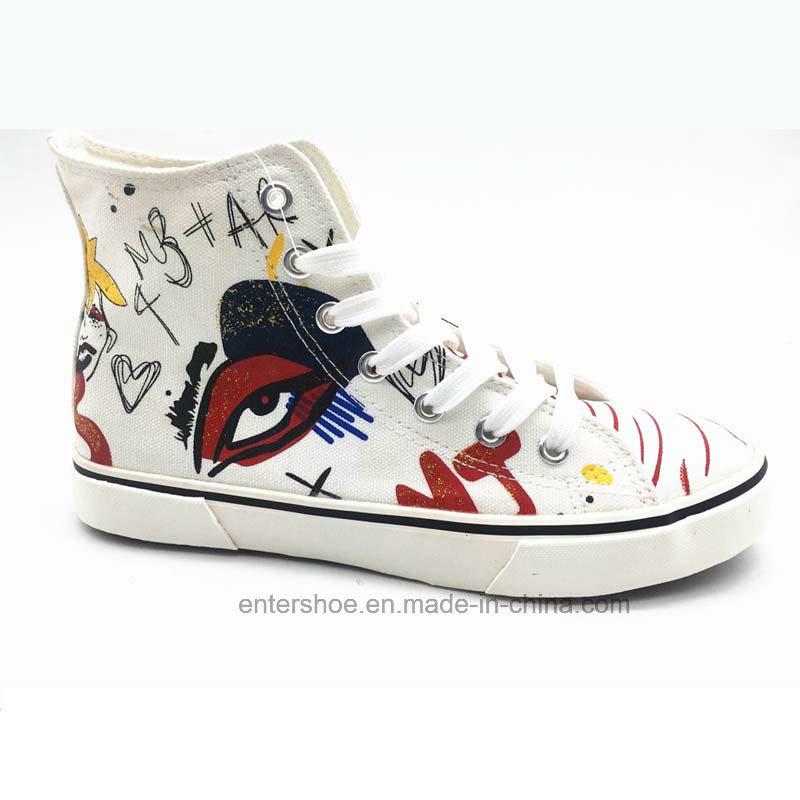 High Top Canvas Women Shoes Sneaker (ET-YH160338W)