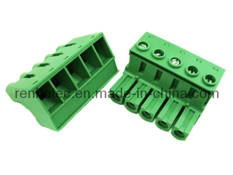10.16mm Pitch PCB Pluggable Terminal Block Female Connector