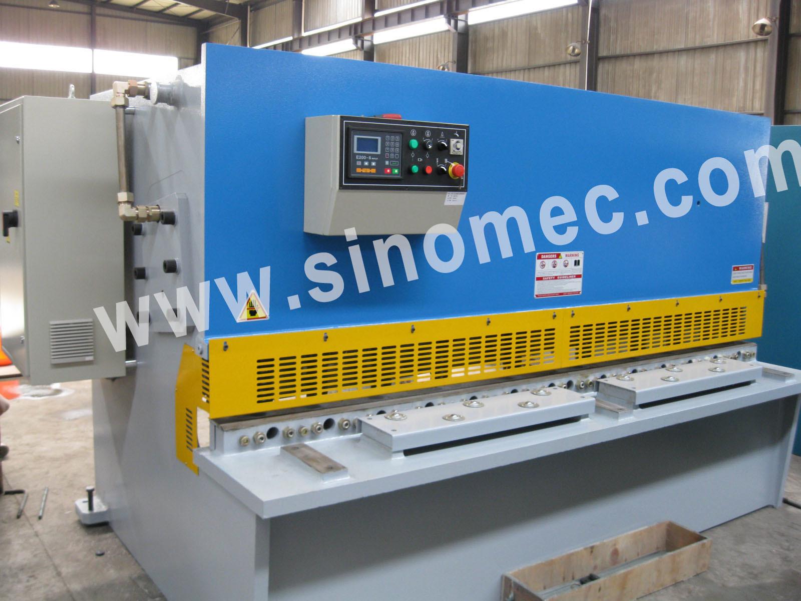 Nc Guillotine Shear / Cutting Machine / Hydraulic Shear Machine (QC12K-12X2500)