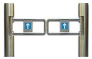 Split Cylinder Swing Gate Turnstile
