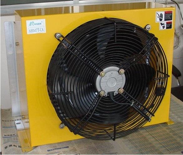 Hydraulic Oil Cooler With Fan : Hydraulic oil cooler ah t ca china