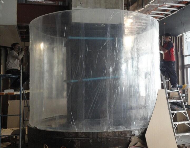 Acrylic Aquarium with Cylinder Shape (MR174)