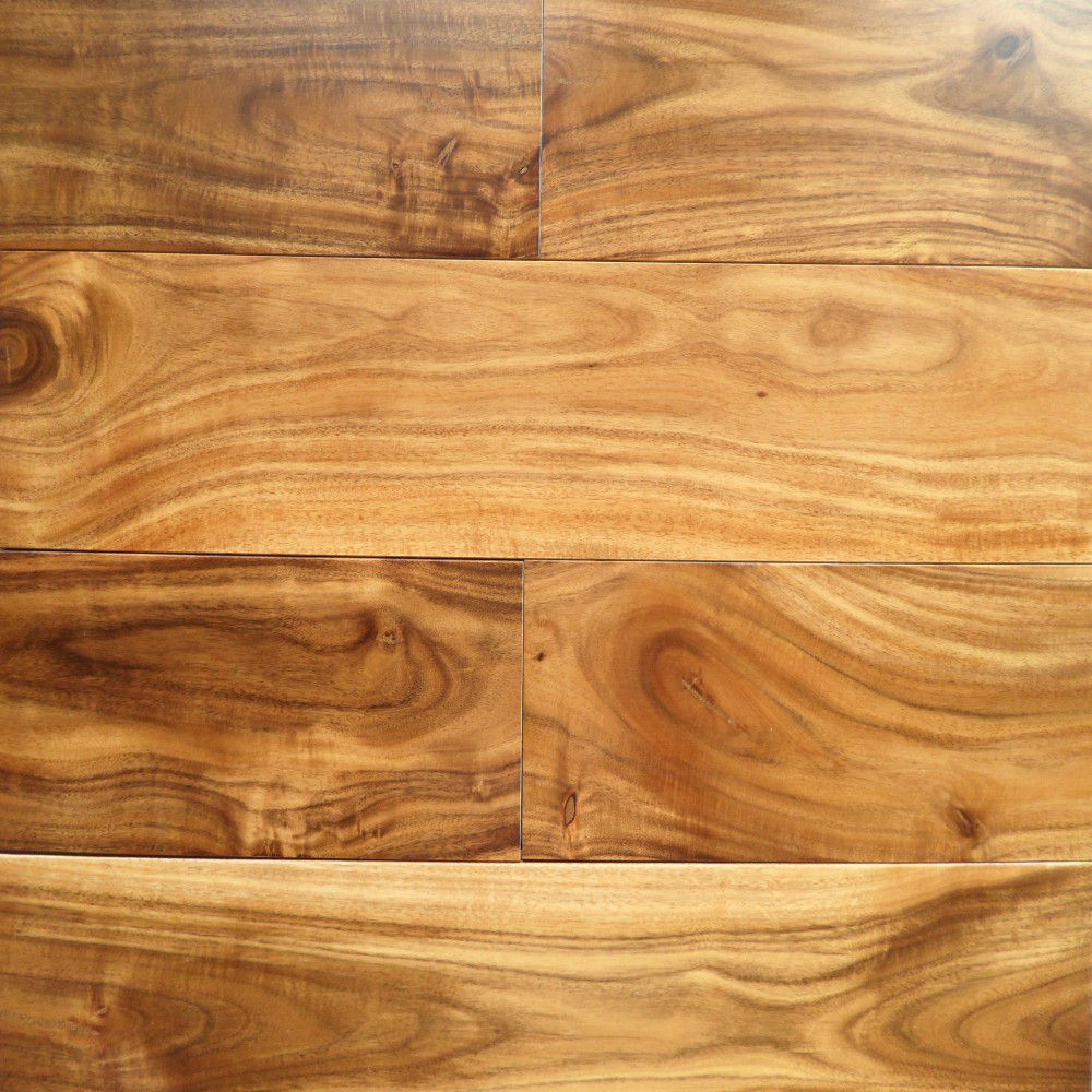 China golden acacia select smooth prefinished hardwood for Prefinished flooring