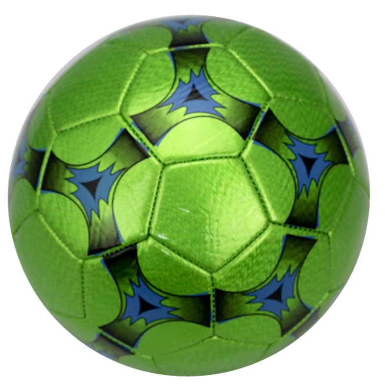 Metallic Leather Soccer Ball