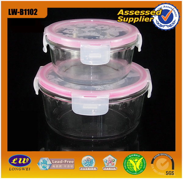 Glass Food Container/Glassware