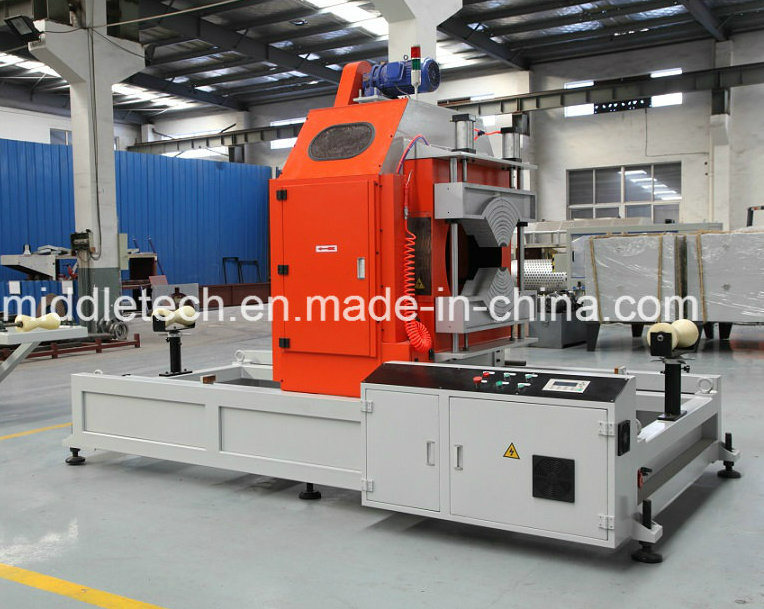 (CE/SGS) Plastic Extruder-PVC/ PE/PPR Water Pipe &Electricity Conduit Pipe& Board Profile Extrusion and Making Machine (haul off/Cutter/Winding)