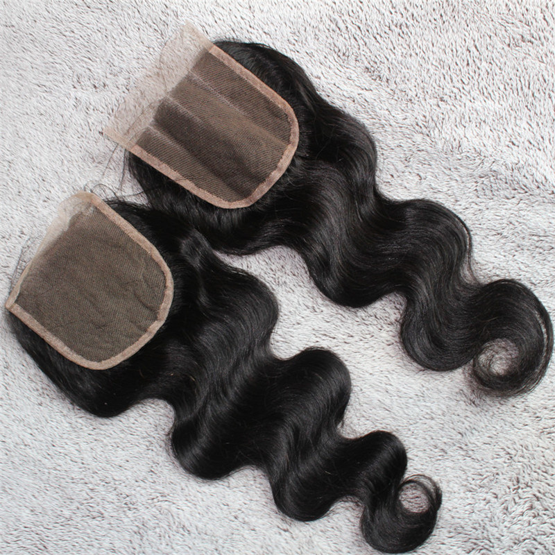 4*4 Body Wave Freestyle Brazilian Human Hair Closure