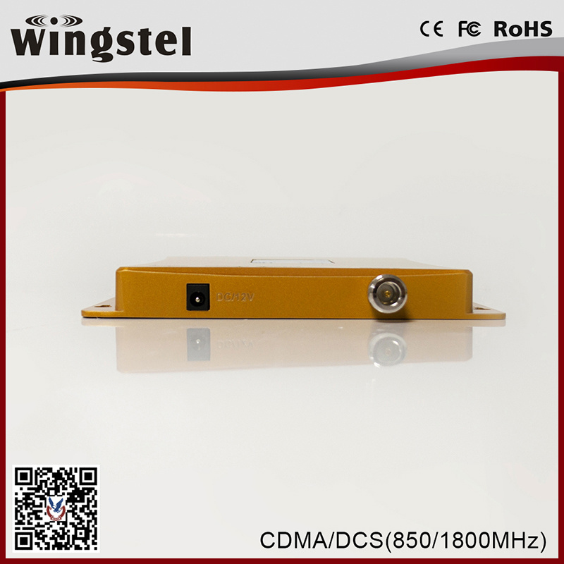 Dual Band CDMA/DCS 850/1800MHz 3G 4G Mobile Signal Booster