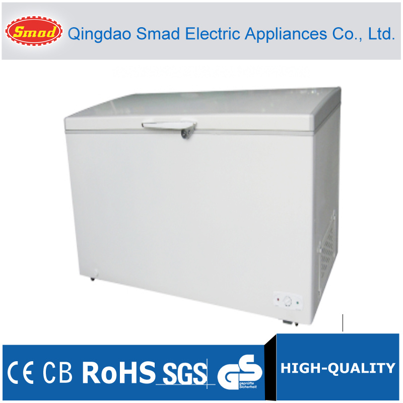 China Large Capacity Top Open Chest Freezer Bd548 Photos