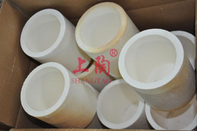 High Purity 99% Magnesia MGO Ceramic Crucibles