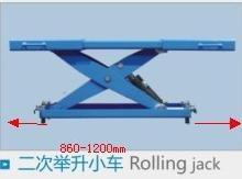 Normal Rolling Jack on 4 Postlift