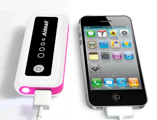 4400mAh with LED Indicator Light and Flashlight Mobile Power Bank (HY-DY-010)