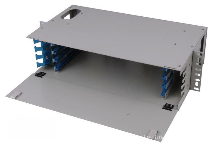 32 Cores Fiber Optic Cable Terminal Plastic Distribution Box