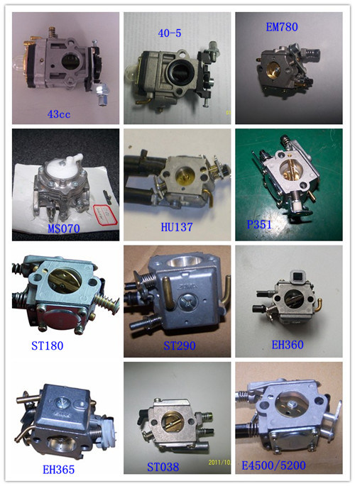 Chainsaw and Brush Cutter Parts- Carburetor (EMAS)