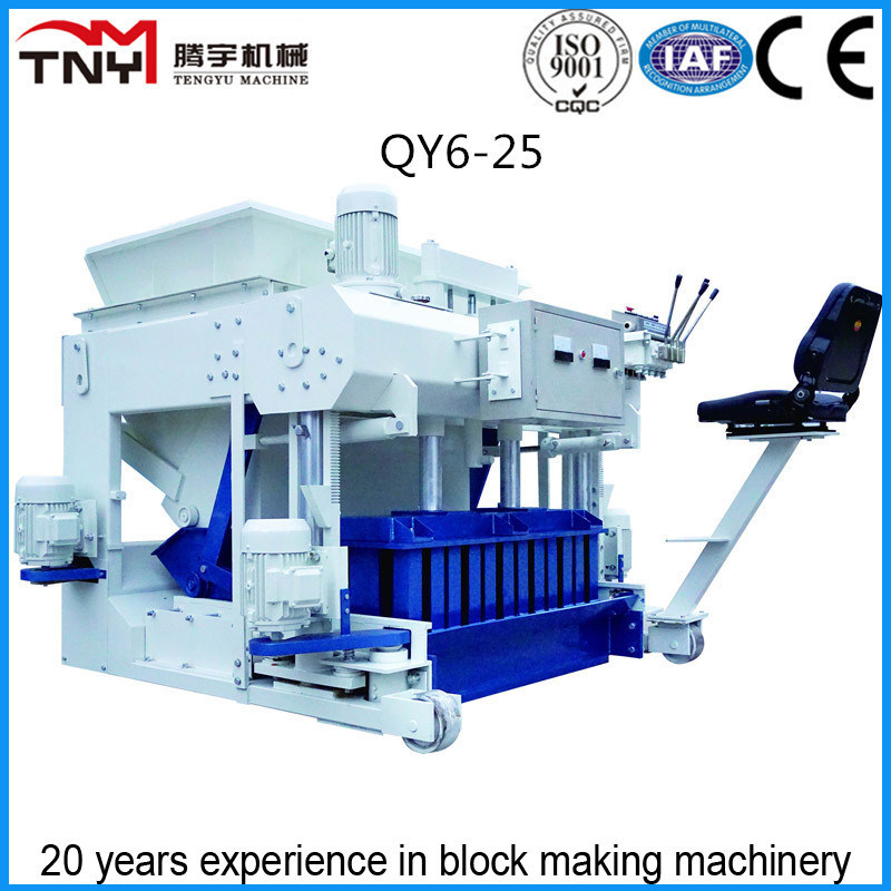 Mobile Small Investment Block Making Machine (Qy6-25)