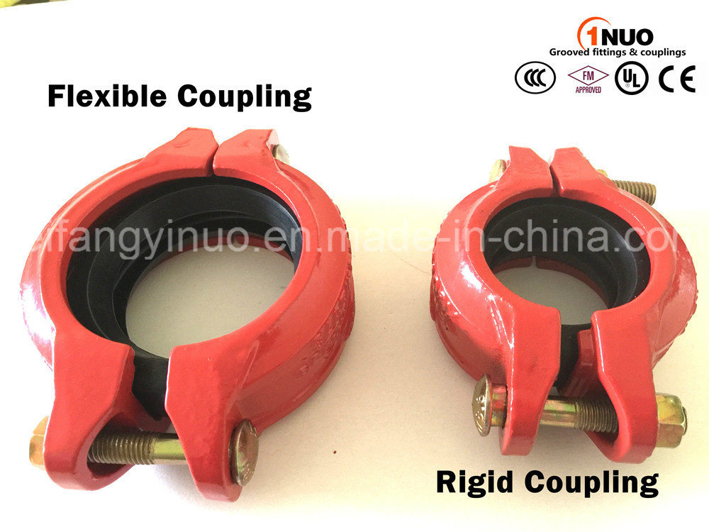 Epoxy Grooved Reducing Flexible Coupling with FM/UL Listed