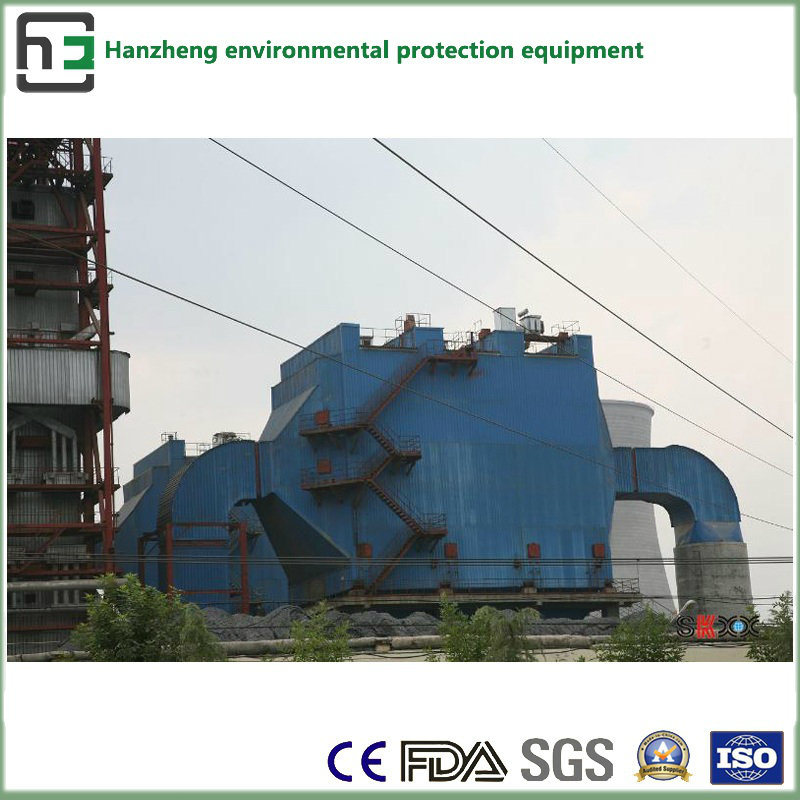 Combine (bag and electrostatic) Dust Collector-Eaf Air Flow Treatment