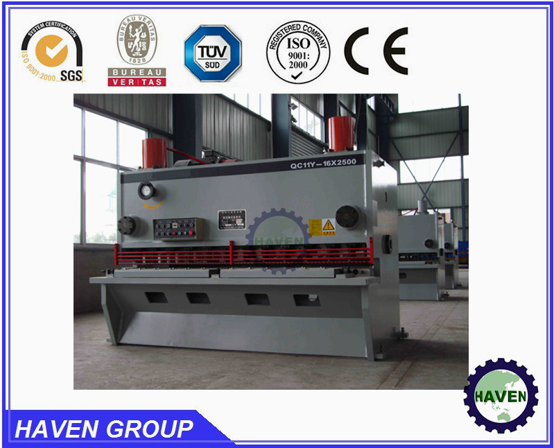 Hydraulic Shearing Machine 8mm Steel Plate Cutting Tool 6000mm