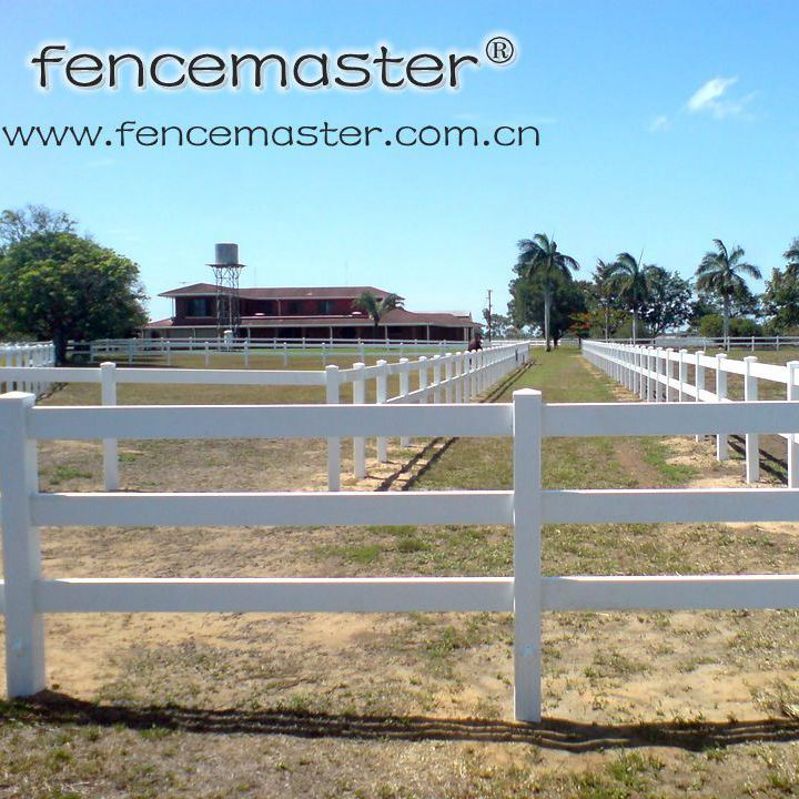 Lifetime Warranty PVC Ranch Fencing