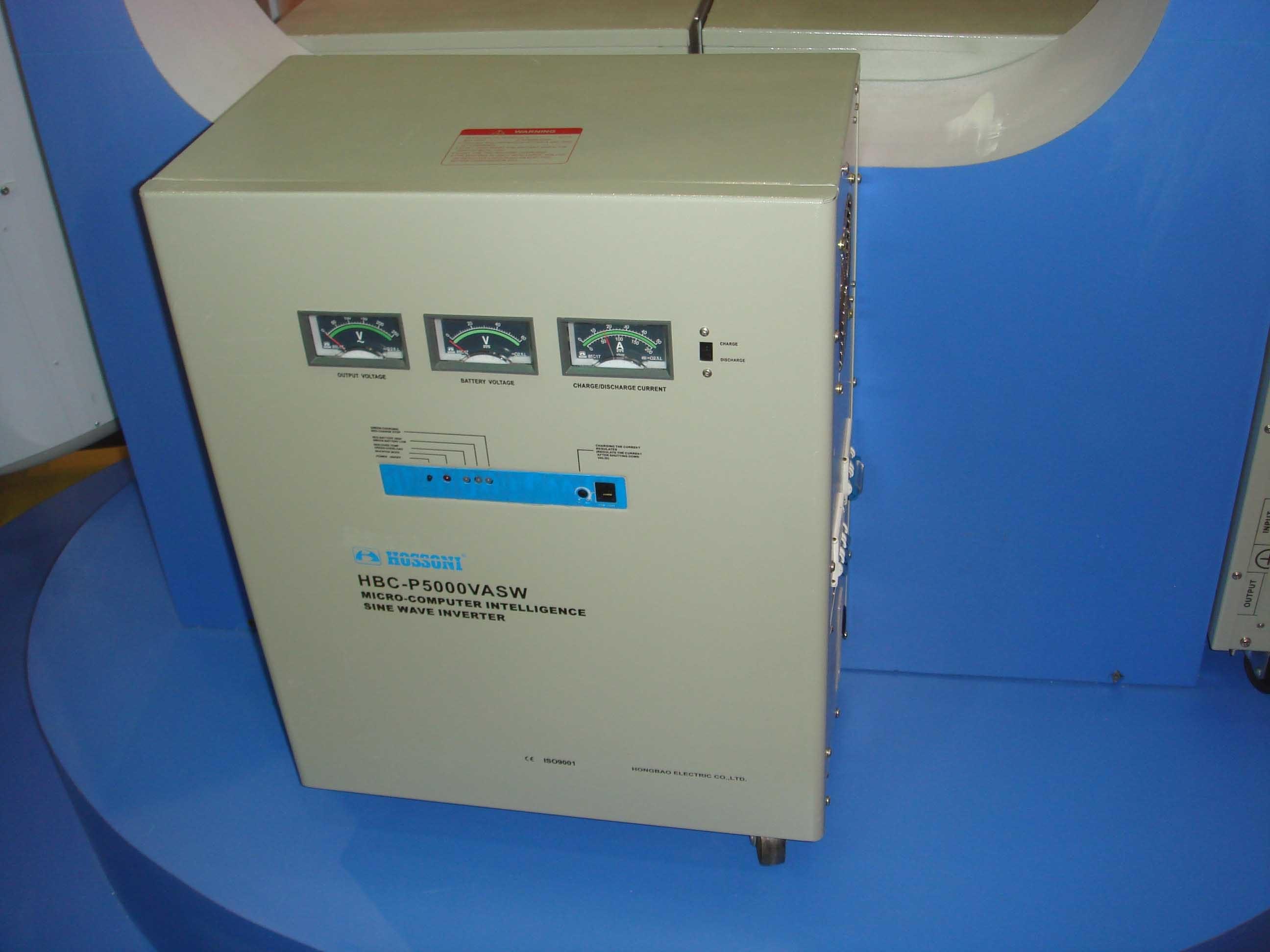 HBC-PSW (HBC-DZP) Series Microcomputer Intelligent Sine Wave Inverter 5000VA
