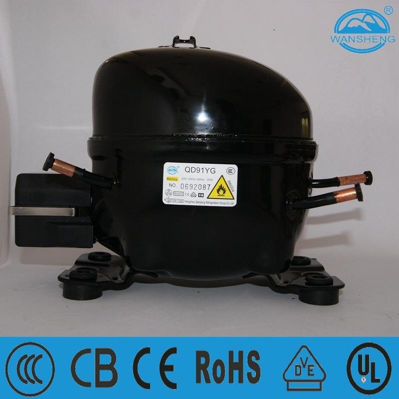 Qd91yg Hot Sale Refrigerator Compressor with CB/CE/VDE/CCC