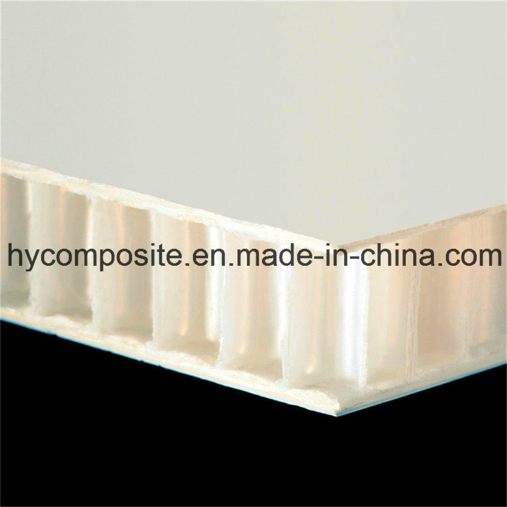 Smooth Fiberglass Prelaminated PP Honeycomb Panel for Wall