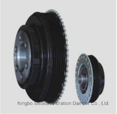 Torsional Vibration Damper / Crankshaft Pulley for Ford 1682158