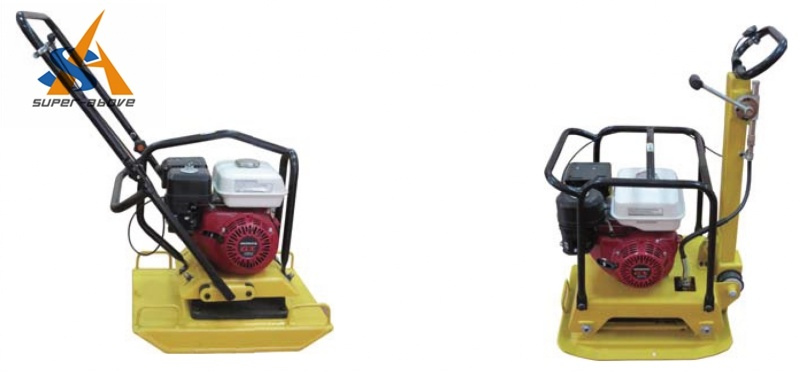 Vibrating Plate Compactor for Road Construction
